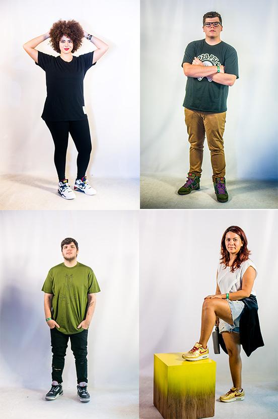 Os vencedores da Sneaker Night eleitos pelo júri especializado | Fotos: Raul Aragão (I Hate Flash)