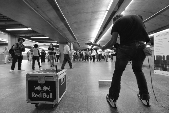 Red Bull Sounderground acontece esta semana no metrô do RJ | Foto: Divulgação