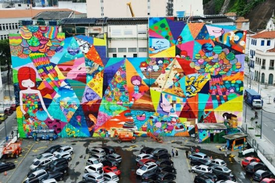 Obra de Toz, um dos artistas que estará em exposição | Foto: Reprodução